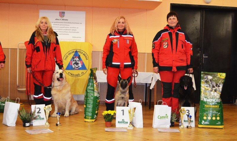 39. Mistrovství České republiky záchranných psů SZBK ČR zná svého mistra