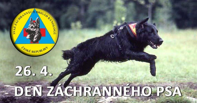 Den záchranného psa