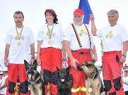 Vítězné družstvo na MS 2010